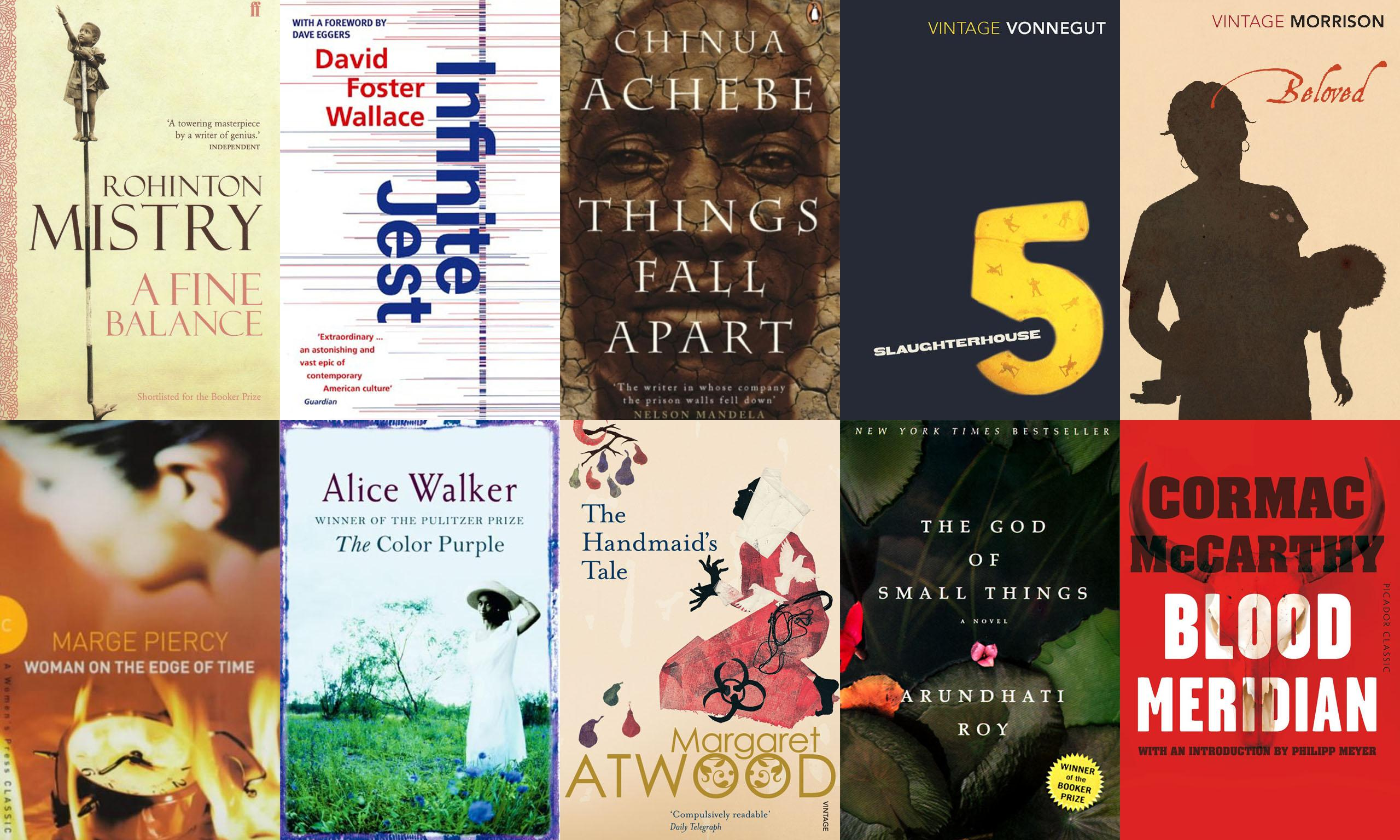 The best novels in English: readers' alternative list