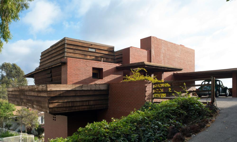 The George D Sturges Residence, 1939 designed by Frank Lloyd Wright