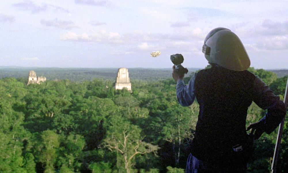 Yavin 4, in Star Wars IV: A New Hope.
