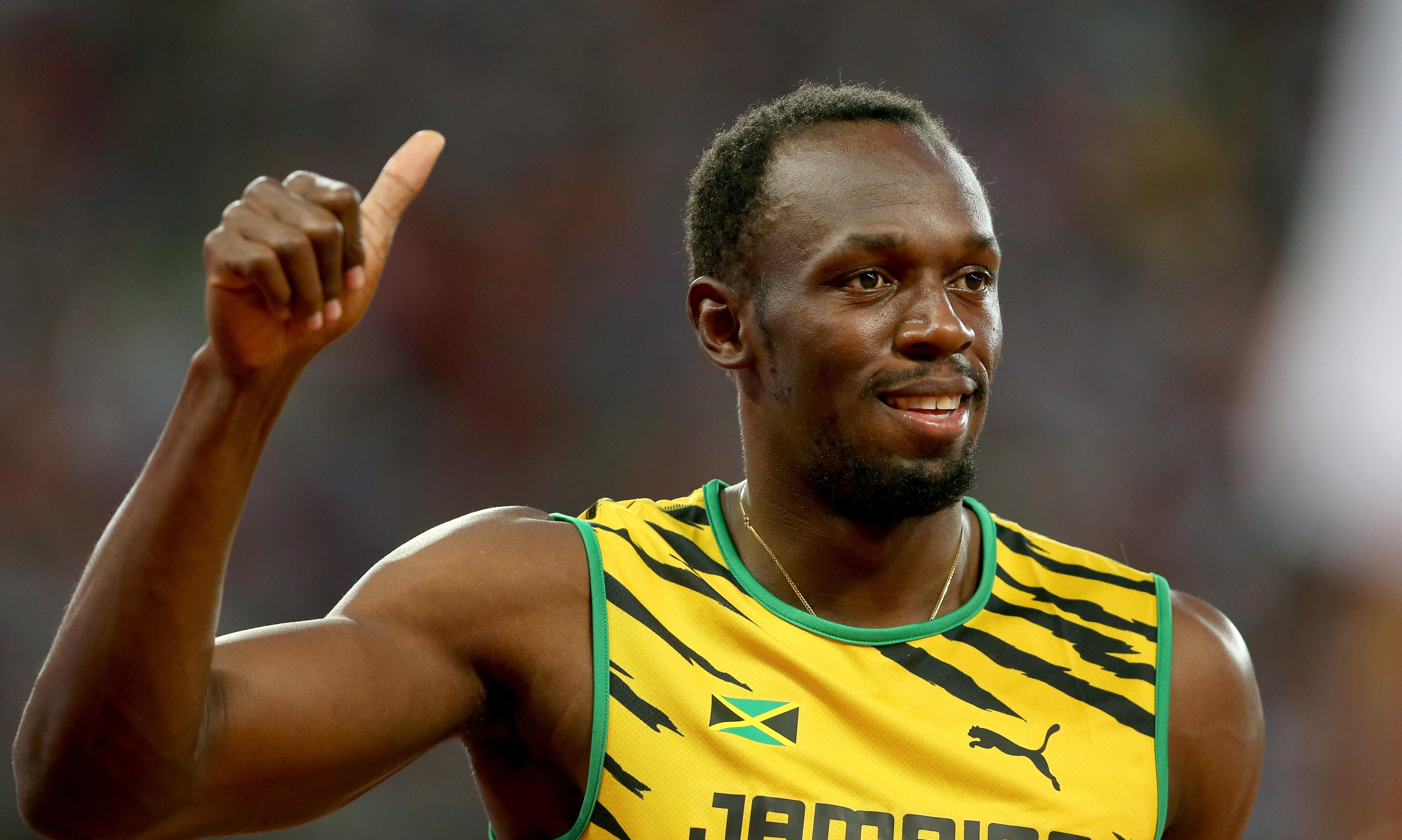 Usain Bolt beats Justin Gatlin to 100m title at World Athletics Championship