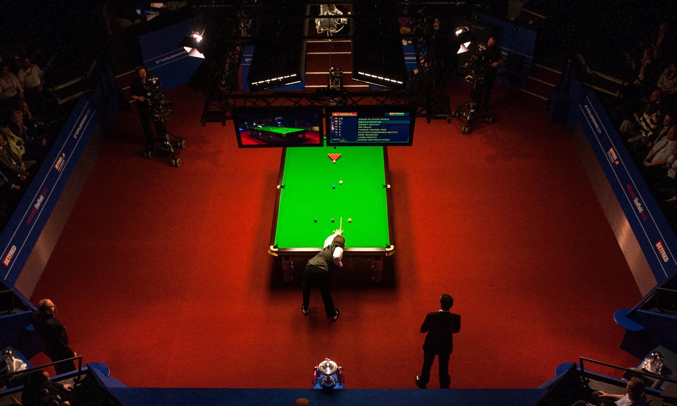 live snooker final