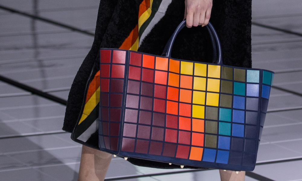 A colourful design from Anya Hindmarch