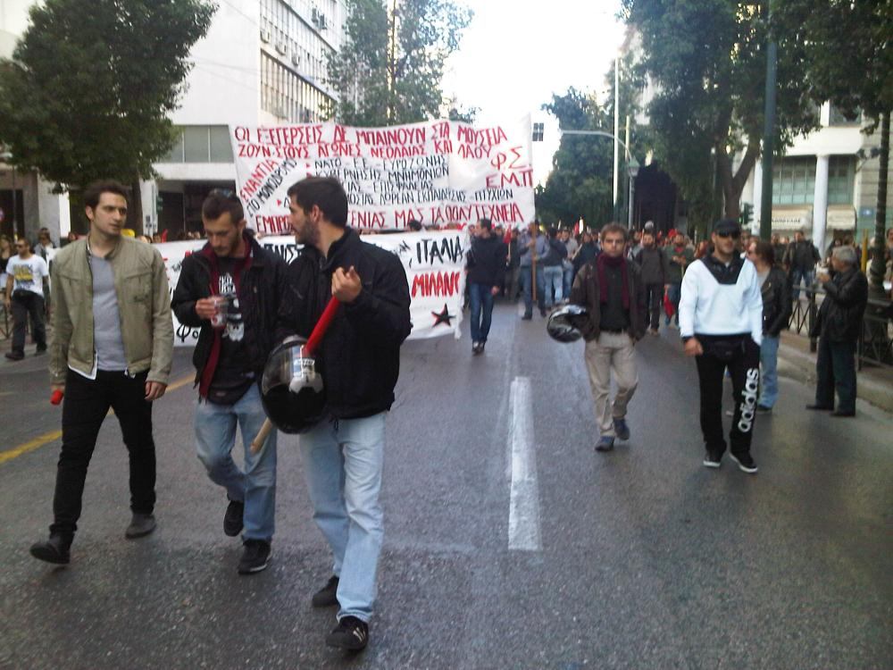 March in Athens