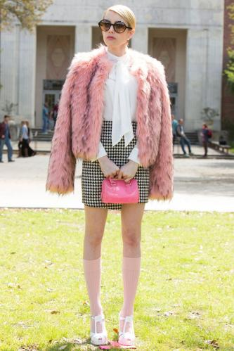 Socks take centre stage in Scream Queens.