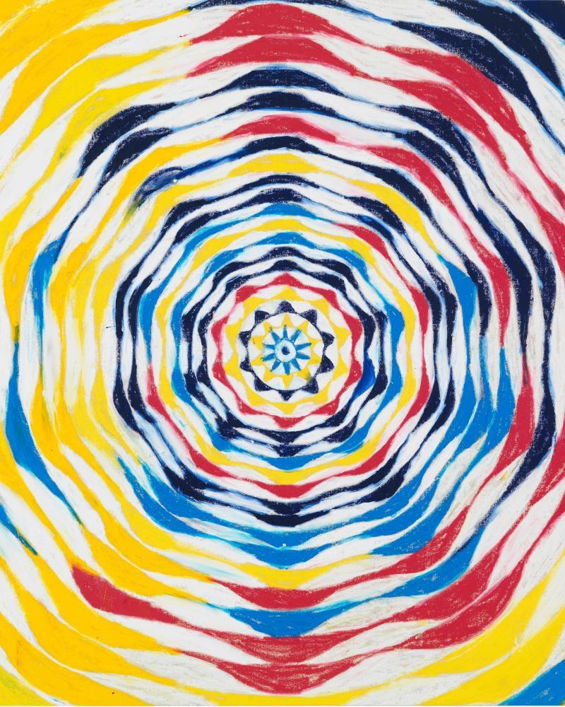 Slipptard Circle (detail) by Harmony Korine.