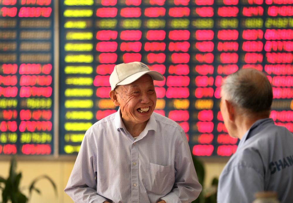 Chinese investors, 16 Oct 2015.