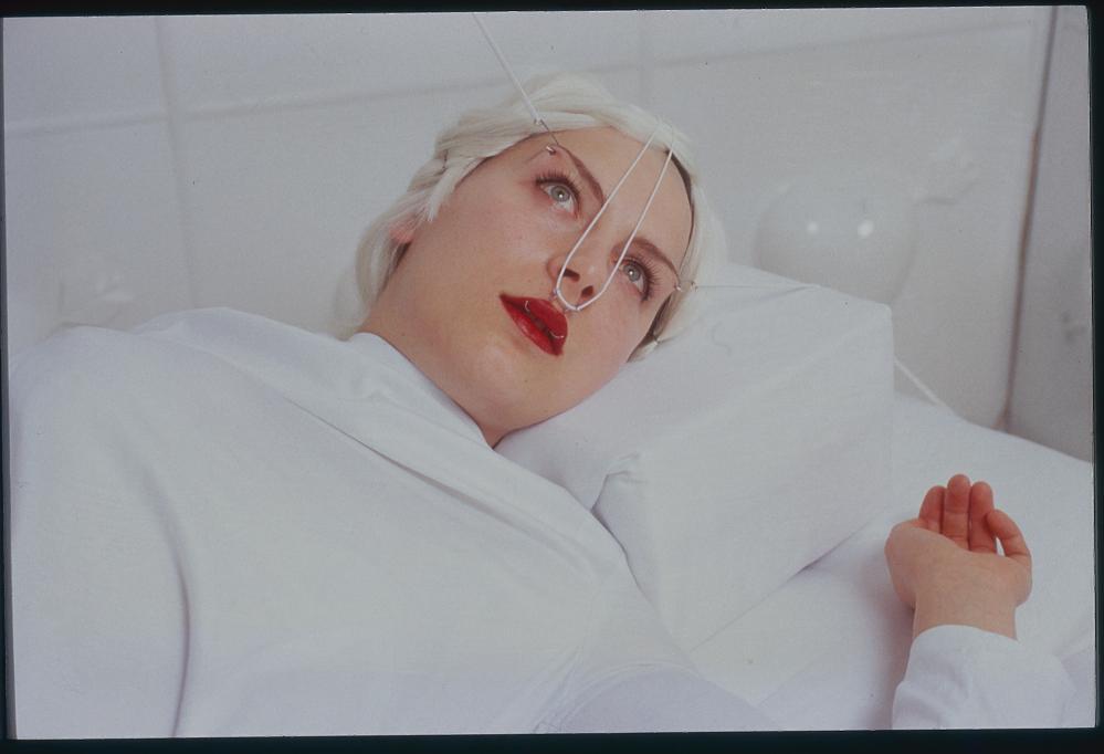 From Monika Tichacek's 2000 installation, Romance.