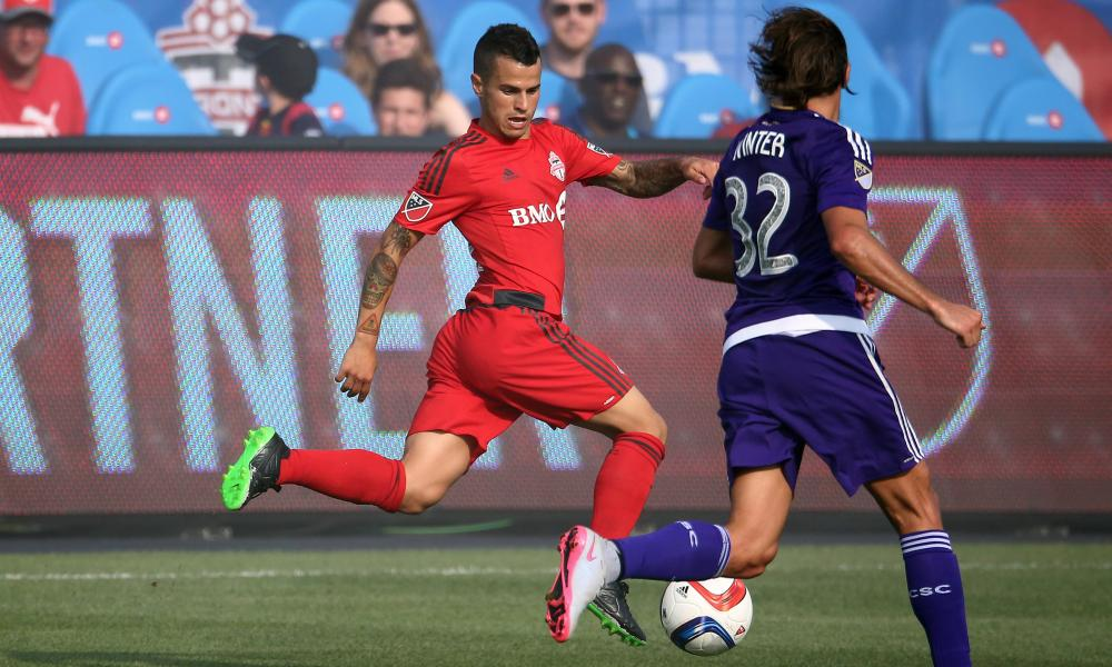 Sebastian Giovinco was on song again.