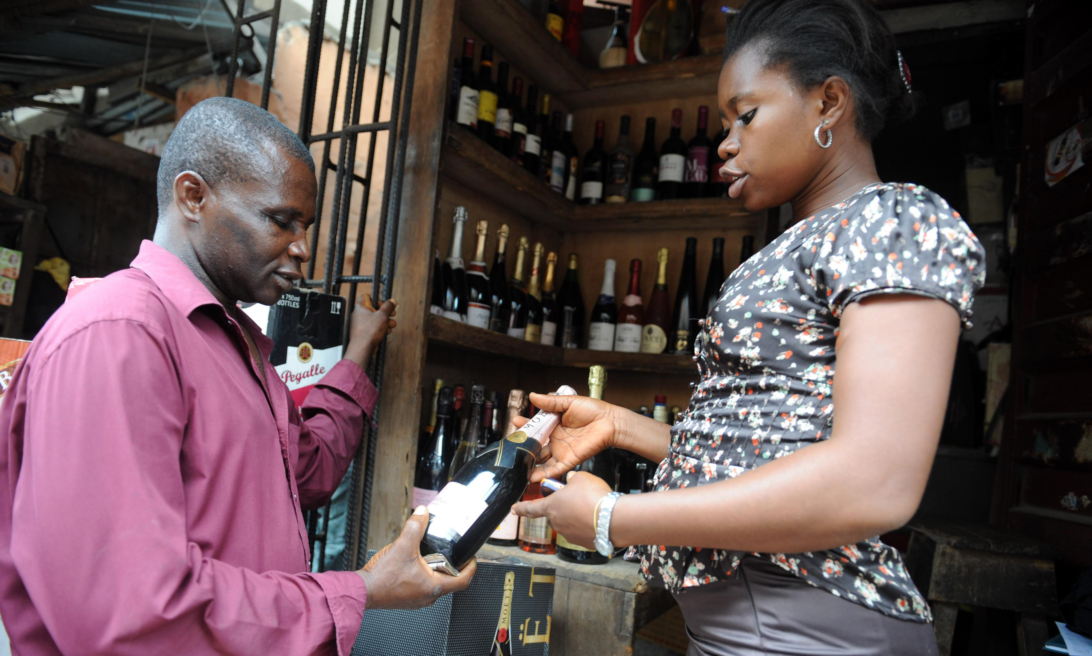 Do Nigerians really drink as much champagne as the French?