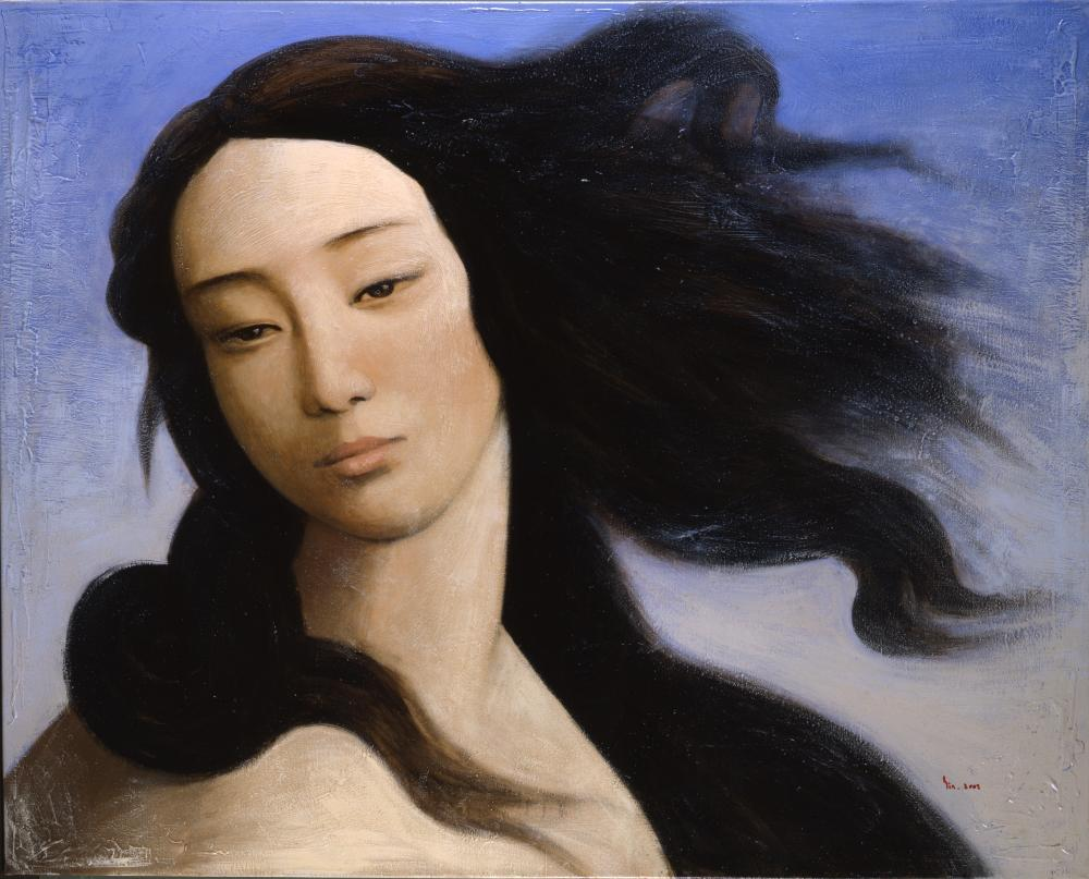 Venus after Botticelli by Xin Yin (2008).