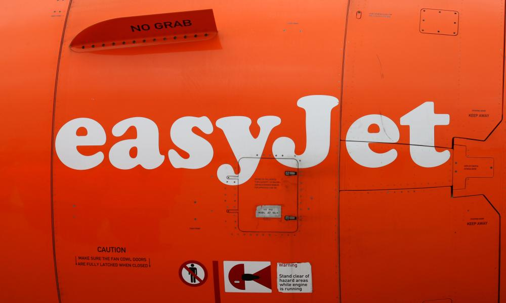 Aircraft left passengers at gate<br>File photo dated 05/03/12 of signage on the engine of an easyJet passenger plane as the budget airline has apologised after a flight from Malaga to Bristol took off without 29 passengers.