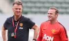 Louis van Gaal insists chats with Wayne Rooney often help change his mind