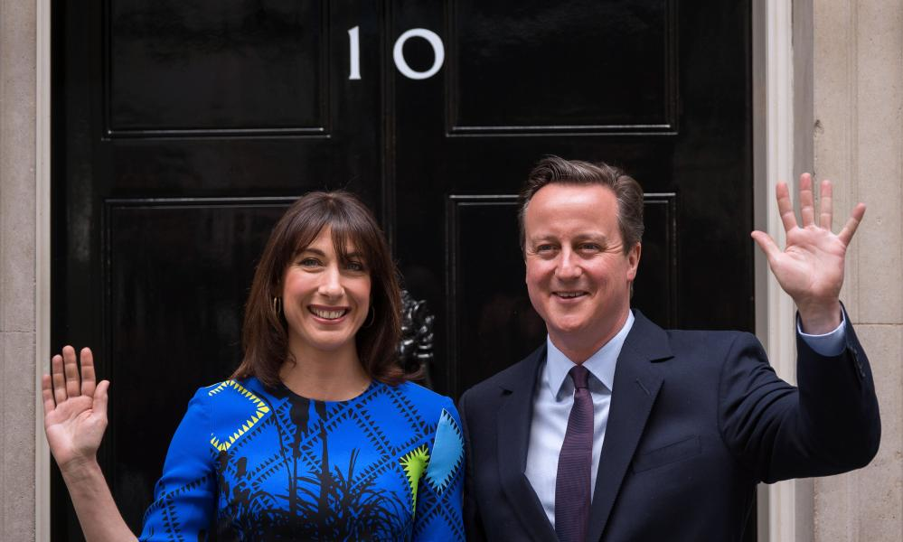 Voters always put David Cameron, pictured with wife Samantha, ahead on economic competence, said Lynton Crosby.