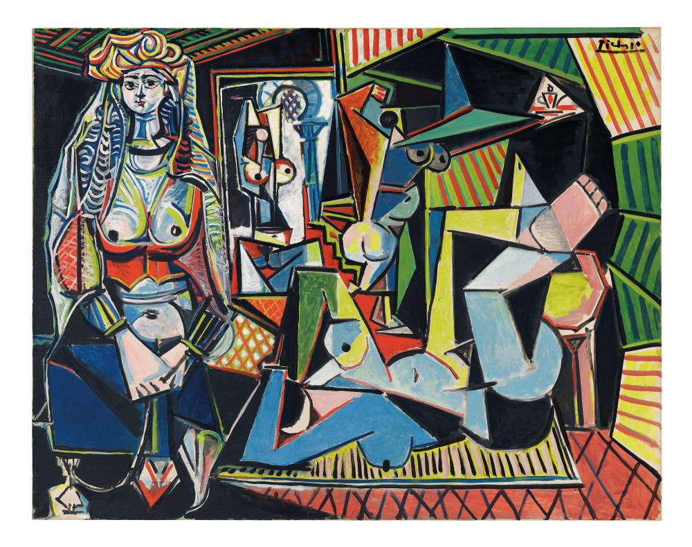 Les femmes d'Alger (Version O) by Pablo Picasso: not worth it.