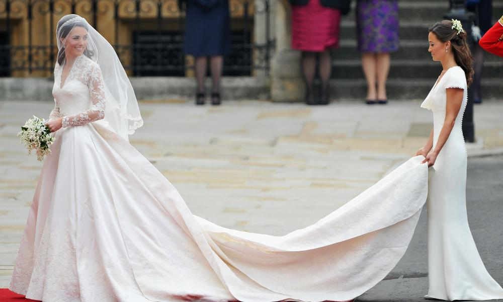Alexander McQueen at the royal wedding