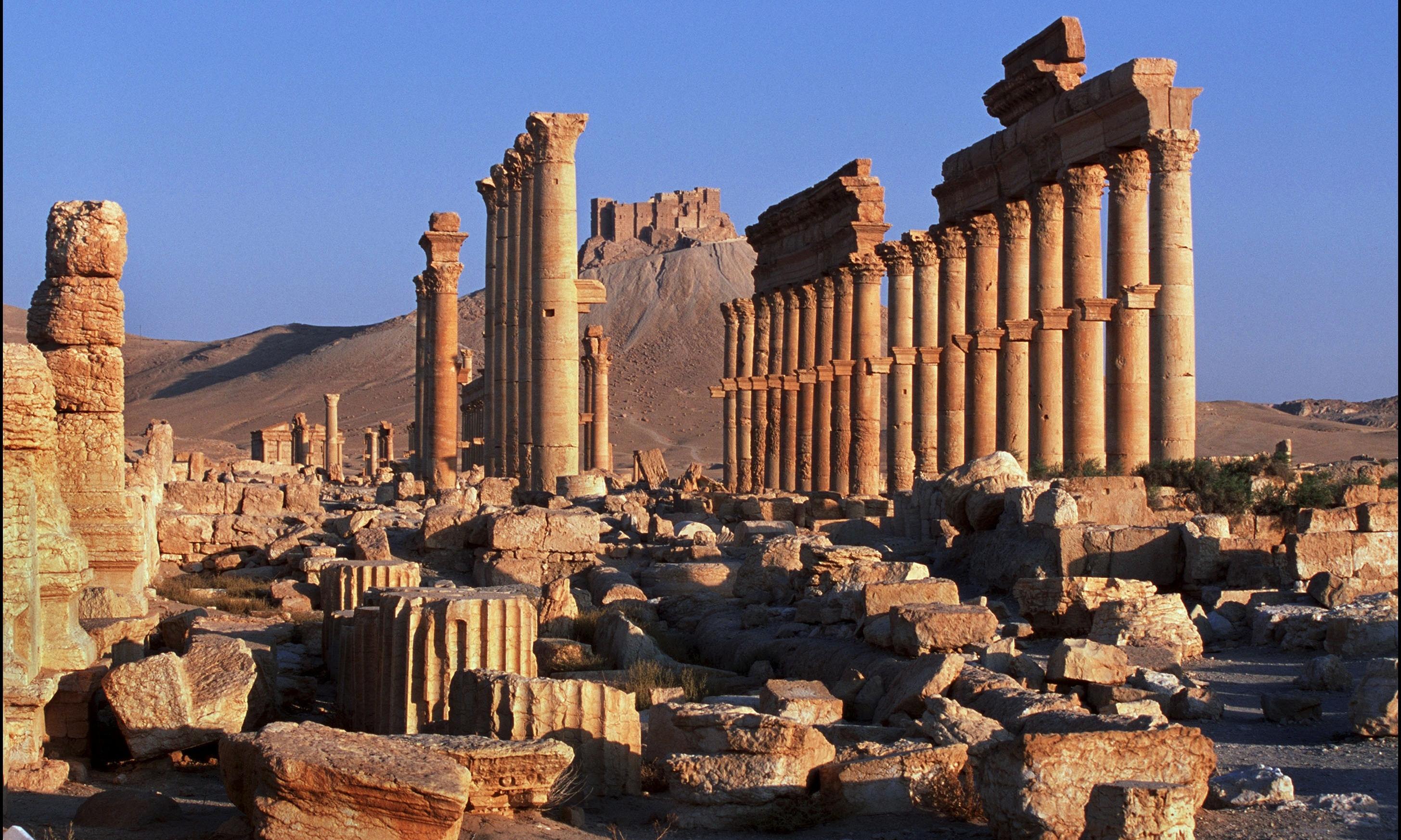 Palmyra is saving priceless antiquity as important as saving people