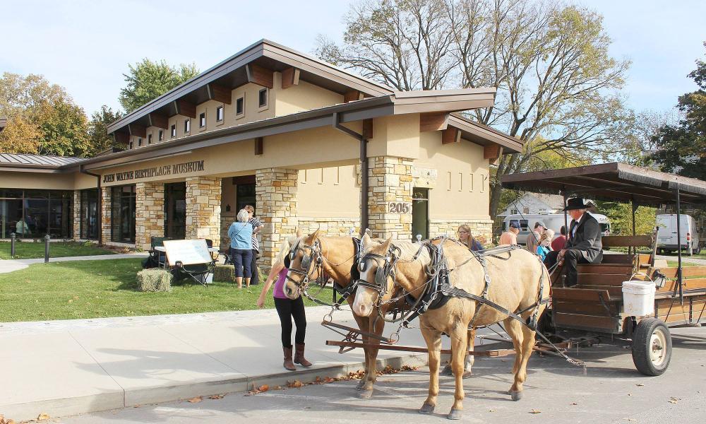 John Wayne Museum, Winterset, Iowa