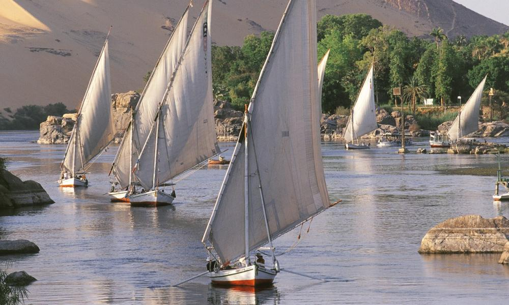 Slow Boat to Aswan cruise