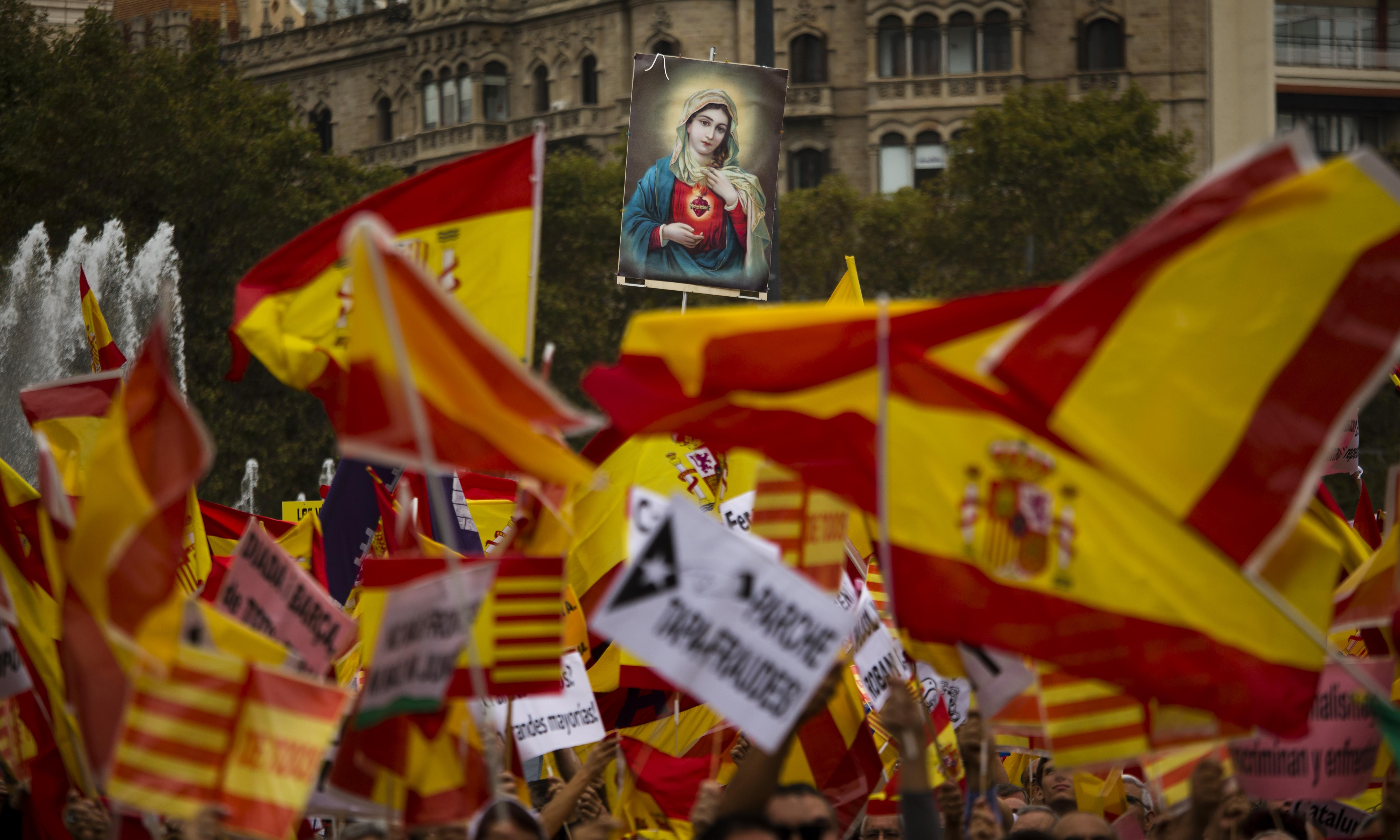 'Nothing to celebrate': leftists in Spain lash out at Columbus Day celebrations