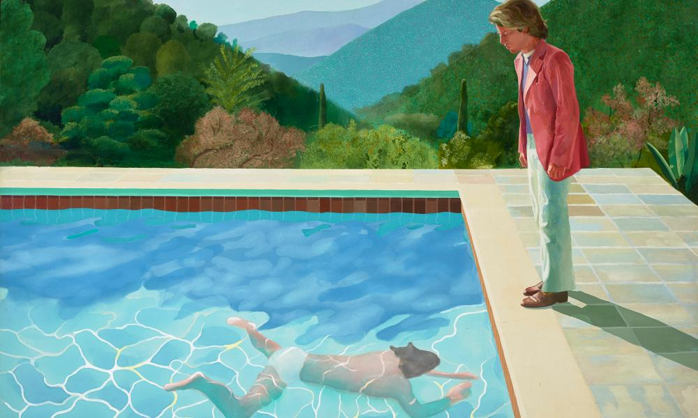 Portrait of an Artist (Pool With Two Figures), 1972