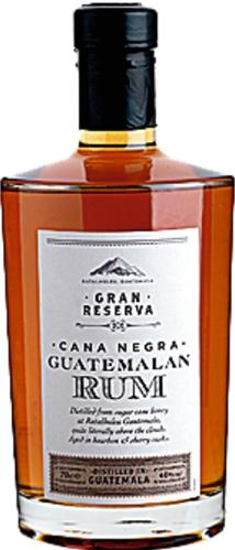 Photograph of bottle of rum