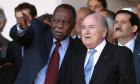 No new broom for Fifa after Issa Hayatou ascends to head of table