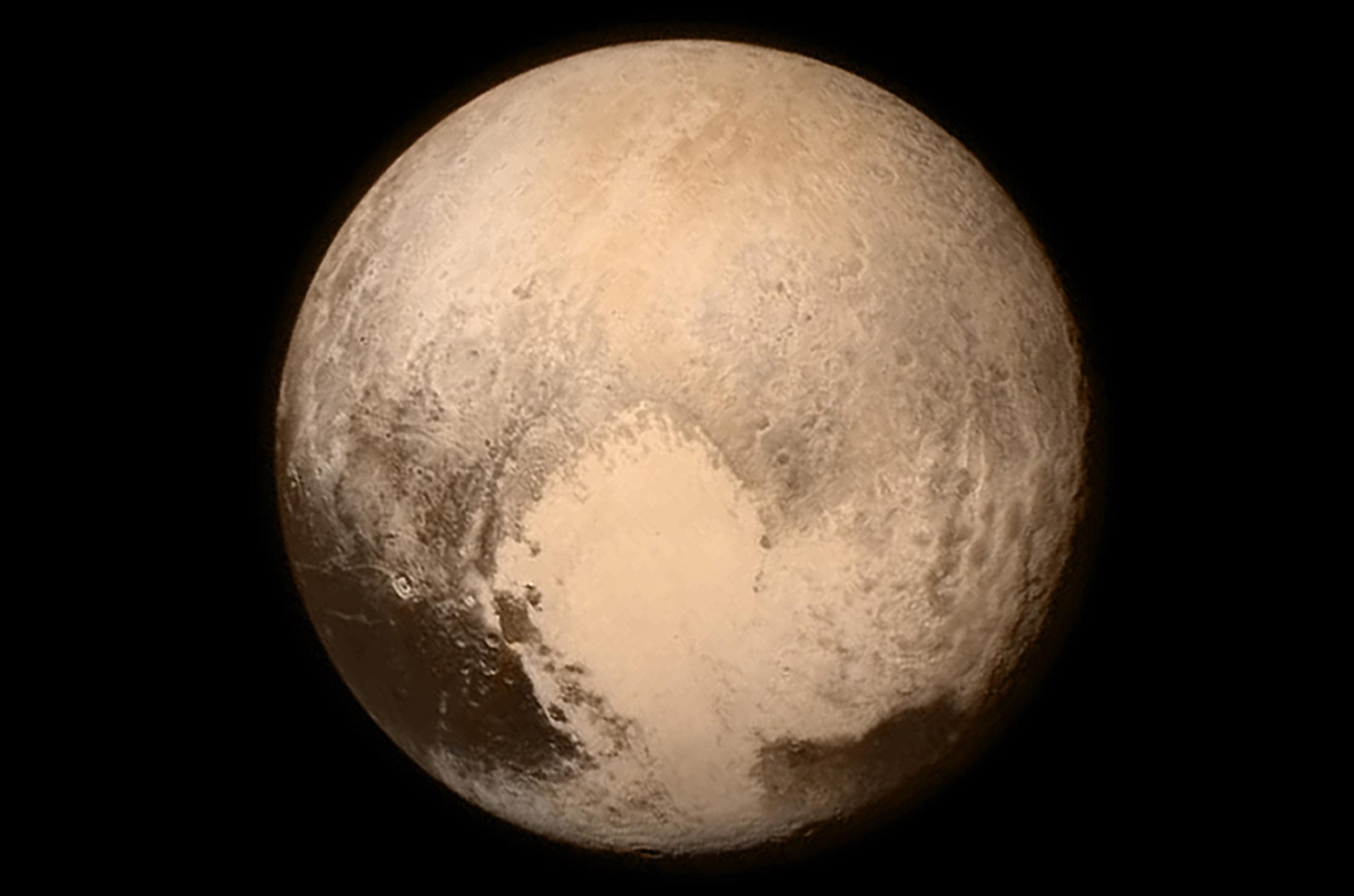 Pluto pictures: Nasa reveals first high-resolution images of surface