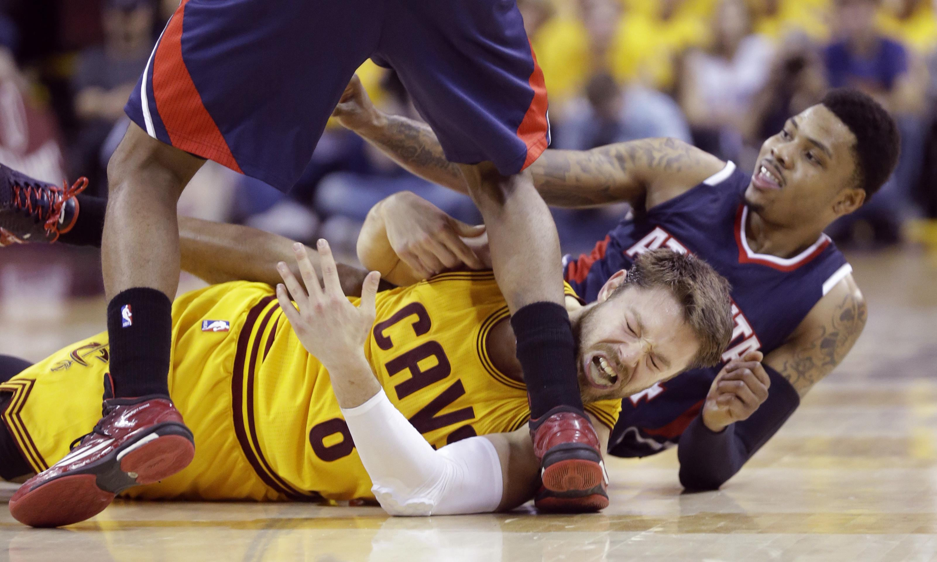 US media brands Cleveland Cavaliers' Matthew Dellavedova a 'dirty player'