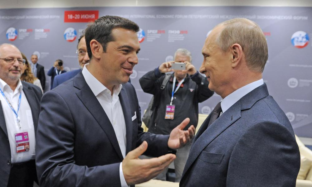 Tsipras and Putin in June