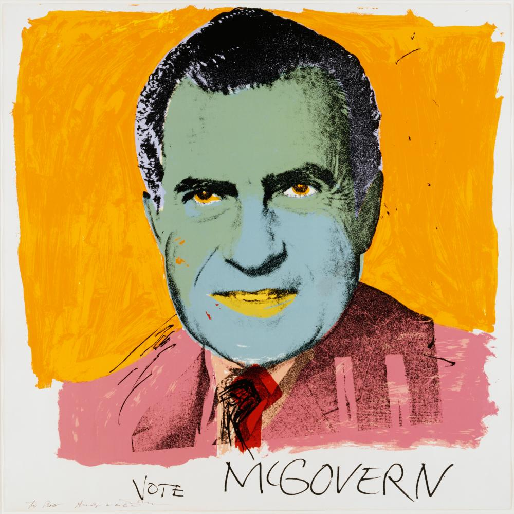 Vote McGovern by Andy Warhol (1972)