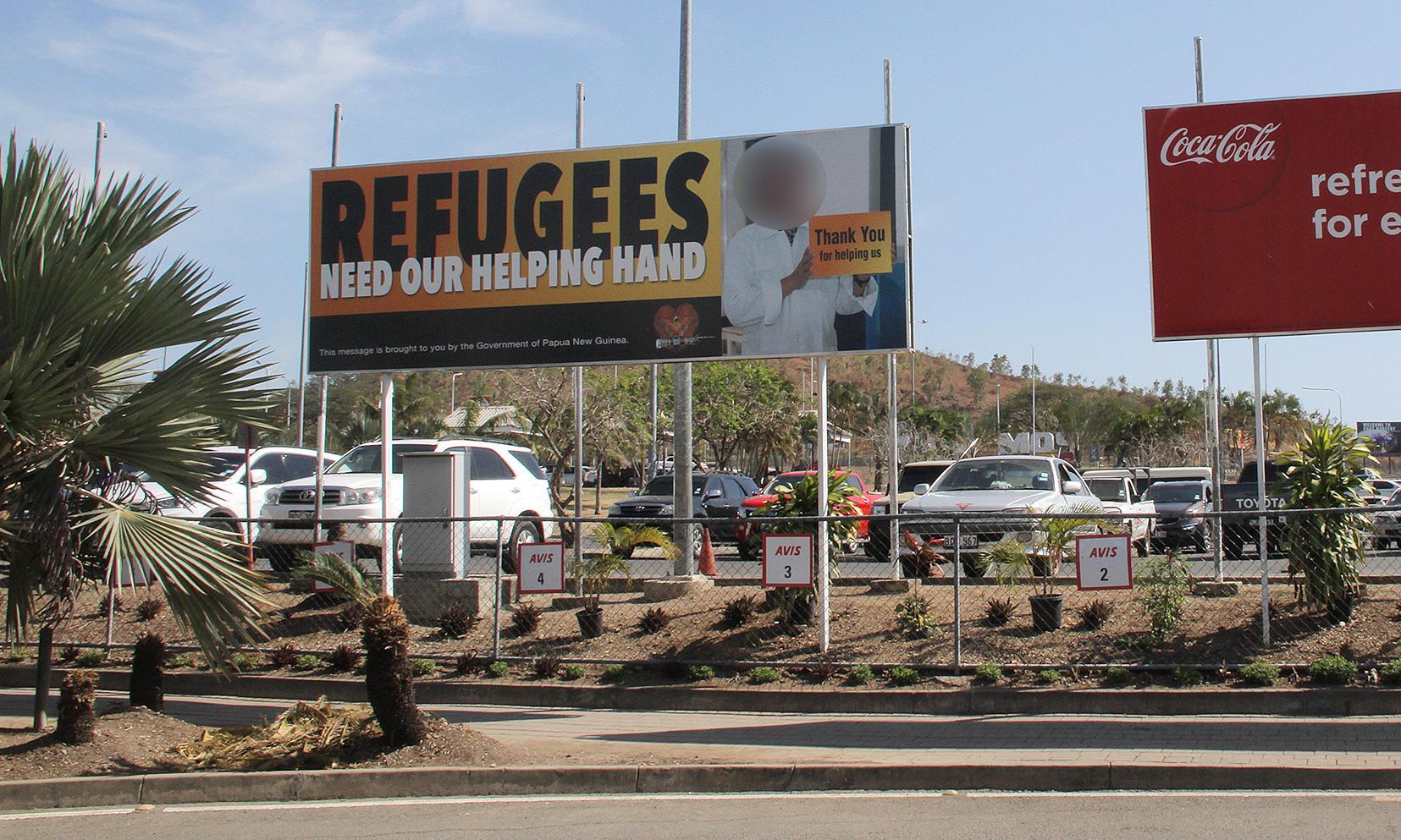 Refugees & Asylum Seekers - Magazine cover