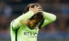 Manchester City's David Silva sits out training ahead of Sevilla showdown