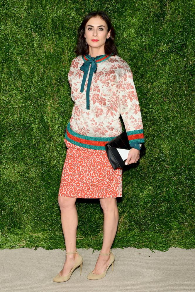 Jewelry designer Francesca Amfitheatrof at the CFDA/Vogue Fashion Fund Awards.