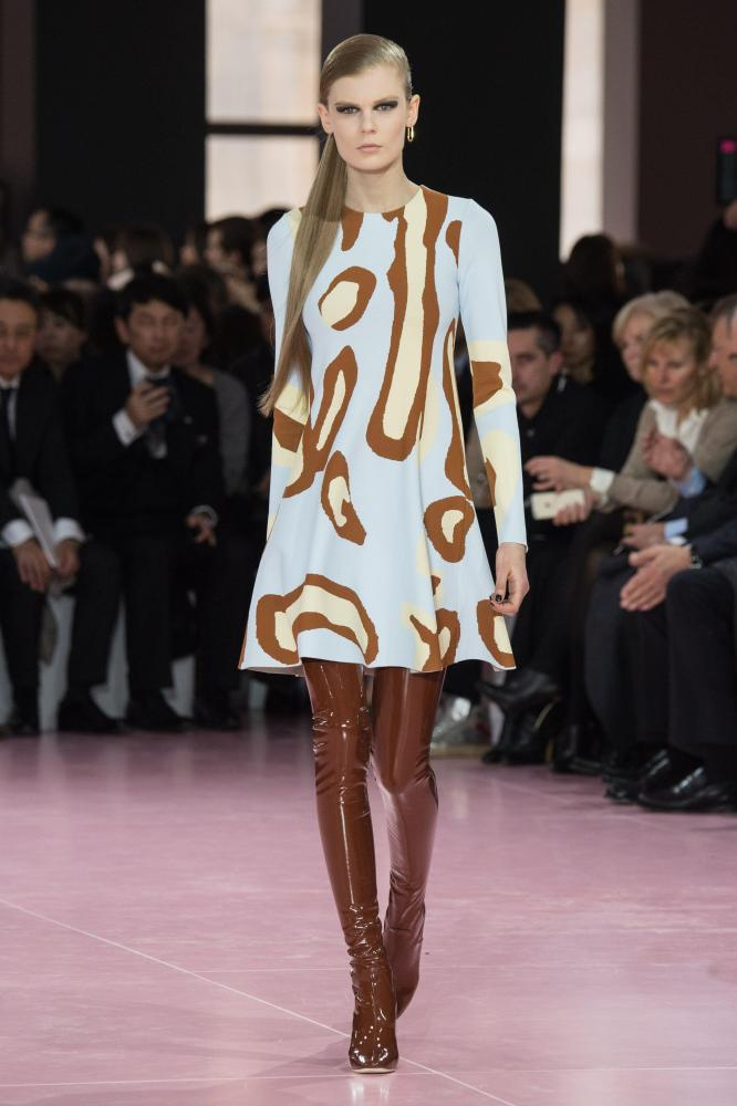 At Christian Dior AW15, legs were the lamp.