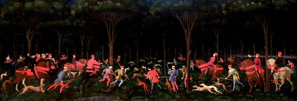 Paolo Uccello, The Hunt in the Forest, about 1470