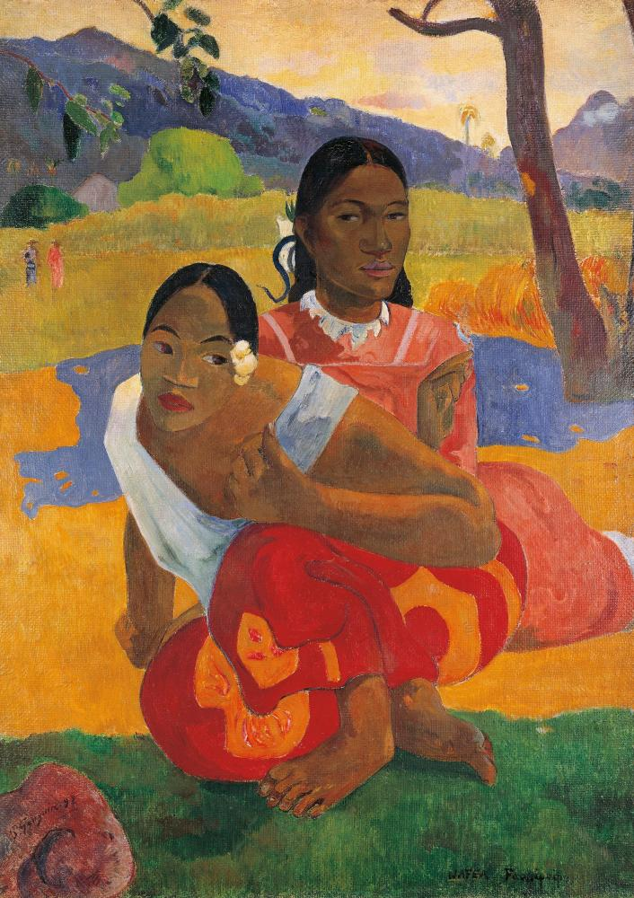 Paul Gauguin, Nafea Faaipoipo (When Will You Marry?), 1892.