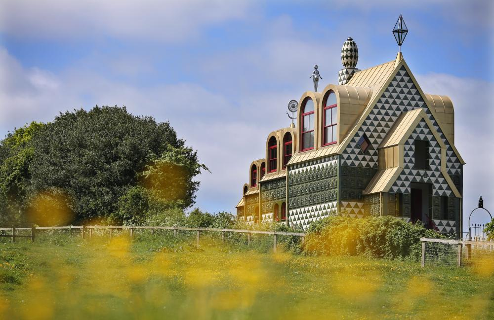 House for Essex: Grayson Perry and FAT's 'memorable' fantasy holiday cottage in Wrabness.
