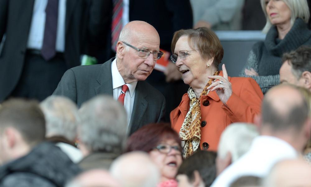 Bobby and Norma Charlton