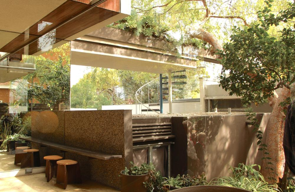 Neutra VDL Studio and Residences, home of architect Richard Neutra.