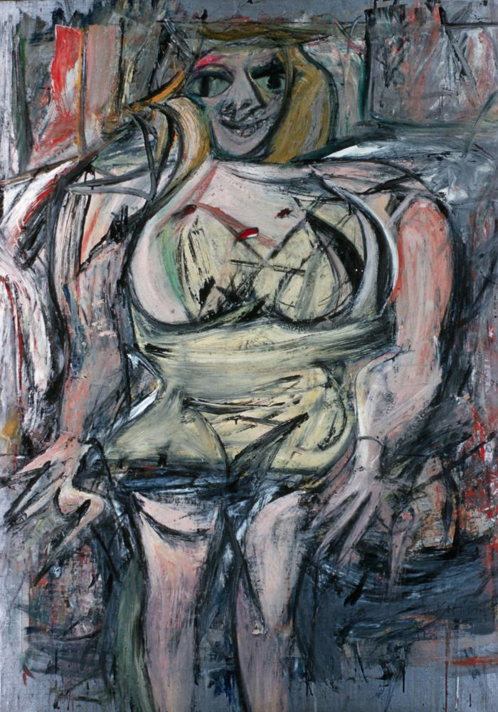 Woman III by Willem de Kooning.