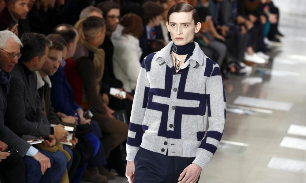 Louis Vuitton menswear collection.