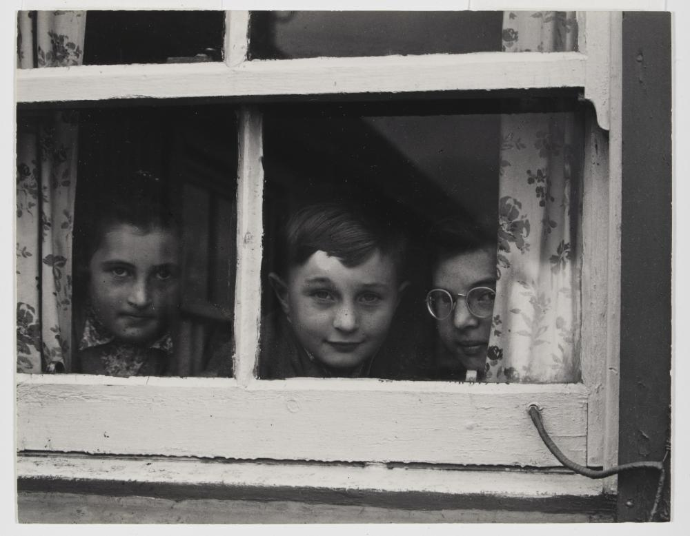 Milly, John, Jean MacLellen, South Uist, Hebrides, 1954.