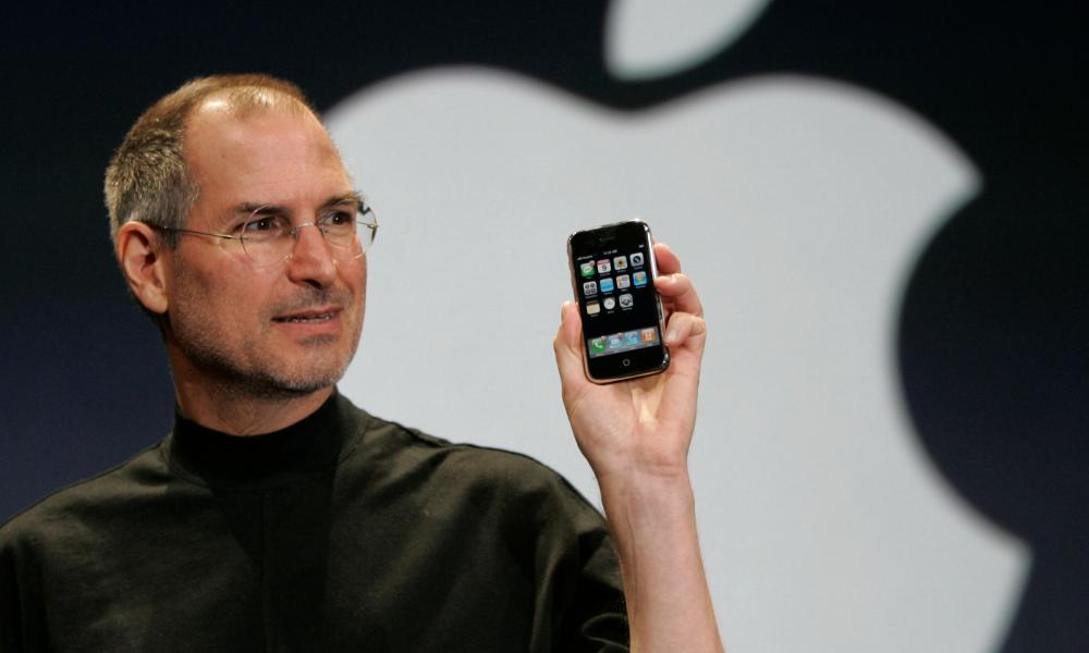 Fyrsta Steve Jobs iPhone