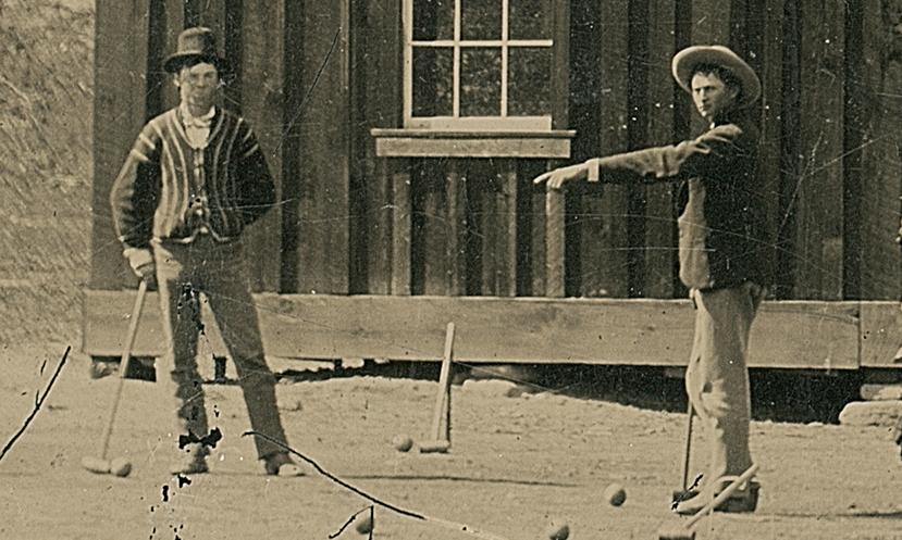 Multimillion-dollar photo of Billy the Kid playing croquet was $2 junk shop find