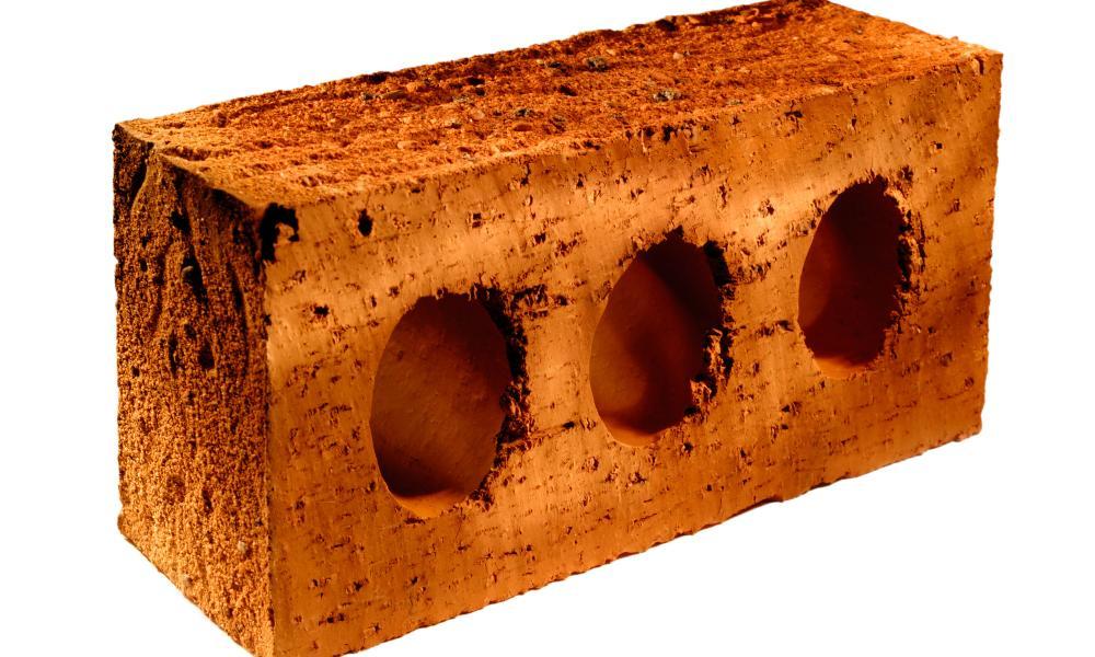 UK standard building brick. Image shot 05/2006. Exact date unknown.<br />AWJRH5 UK standard building brick. Image shot 05/2006. Exact date unknown.