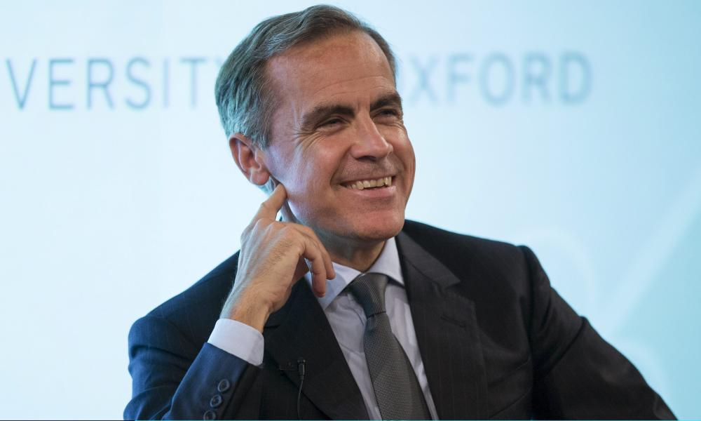 Bank of England Governor Mark Carney makes a speech at The Sheldonian Theatre in the University of Oxford on October 21, 2015 in Oxford, United Kingdom. Carney spoke about the benefits and risks of Britain's EU membership. (Photo by Eddie Keogh-Pool/Getty Images)