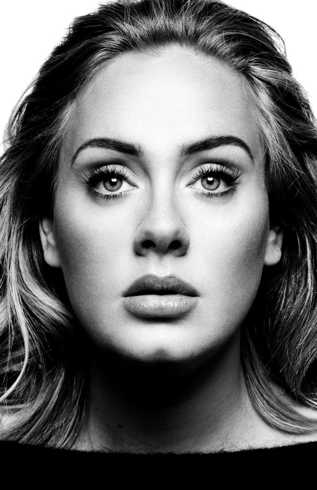 Adele, 2015.