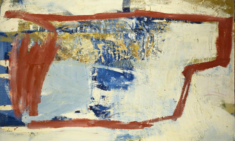 Peter Lanyon Solo Flight, 1960 Oil on board, 48 x 72 inches
