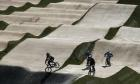 Sport picture of the day: the Olympic BMX race track in Rio