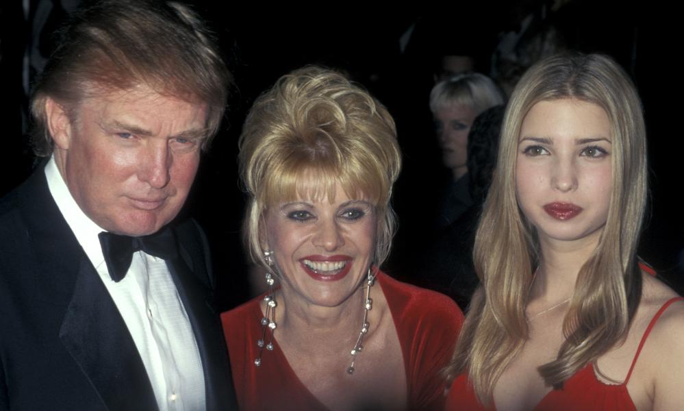 Ivanka Trump attends her birthday party and Valentine's Day party with her parents, Donald and Ivana Trump.